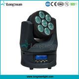 Sin fin roating 7X15W RGBW DMX Luces estroboscópicas para la venta