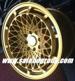 Gold des Sekundärmarkt-F70519 dreht Auto-Legierungs-Rad-Felgen