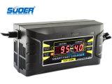 Заряжатель батареи заряжателя 6A индикации 12V Suoer LCD всеобщий (SON-1206D)