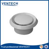Diffuseur en plastique d'air de renvoi de soupape à disque pour l'usage de ventilation