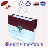 Bolsa de papel al por menor de calidad superior reciclada lujo de Kraft