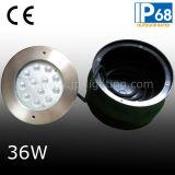 12W indicatore luminoso del raggruppamento dell'acciaio inossidabile LED con il manicotto di plastica (JP948121)
