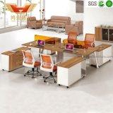 Nuevos cubículos modulares de la oficina del sitio de trabajo de la oficina de la partición para la persona 6 (H30-0237)