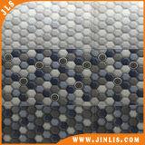 Azulejos de cerámica de la pared de la gradación de la sala de estar hexagonal azul del modelo