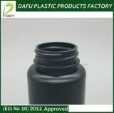 бутылка микстуры черного PE цвета 120ml пластичная