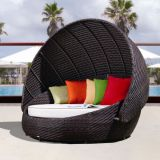 Praia luxuoso / Pool Wicker Sunbed (CF776L)