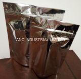 Sacchetto di alluminio con la chiusura lampo