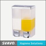 Двойное Tumbler Soap Dispenser ванной комнаты Accessories (V-4401)