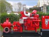 Pompe à eau de lutte contre l'incendie de moteur diesel de Xbc