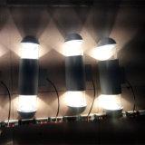 ESPIGA conduzida abaixo da luz para a iluminação ao ar livre