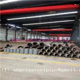Instalación de tuberías de acero de la superficie del negro de la alta calidad de la fuente de la fabricación