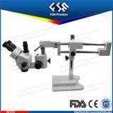FM-Stl2 microscopio di stereotipia dello zoom del laboratorio 0.7X-4.5X Trinocular