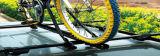 강철 차 지붕 단 하나 자전거 선반