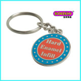 Promocional Wholesale Enamel Sports Charms Metal Keychain