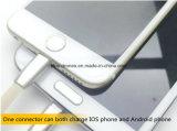 Câble de remplissage plat de synchro USB de caractéristiques de nouille colorée micro neuve d'arrivée pour le téléphone cellulaire
