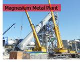 모든 장비는 마그네슘 생산 라인에 백운석 변환