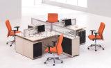 4 Sitzbüro-Arbeitsplatz-Büro-Glastrennwand (SZ-WS401)