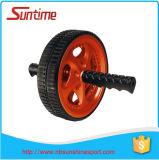 Roue duelle du muscle ab, roue d'ab, roue duelle de rouleau d'ab, rouleau de roue d'ab, roue de puissance d'ab