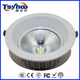 Techo redondo Downlight de Boday Shap LED de la lámpara de aluminio blanca