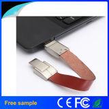 2016 realer lederner Armband USB Pendrive der Kapazitäts-16GB