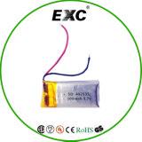3.7V 100mAh batería recargable de polímero de litio 451225