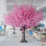 Basamento di fiore artificiale all'ingrosso della decorazione di cerimonia nuziale dell'albero del fiore di ciliegia