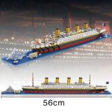 jouet éducatif 1680PCS - grande série du bloc 6739389-Titanic constitutif d'architecture du monde