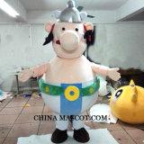 Obelixのマスコットの漫画の衣裳