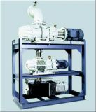이동할 수 있는 두 배 단계 진공 펌프 시스템