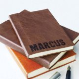 Caderno relativo à promoção/caderno do calendário com corda elástica