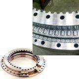 Rodamiento interno de la placa giratoria del engranaje de la bola doble de la fila de la grúa para Kato