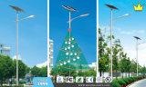 Luz de calle solar sola del soporte LED