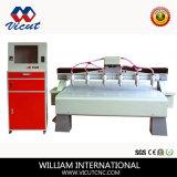 Door Making (VCT-1525W-4H)를 위한 다중 Head CNC Wood Router CNC Engraving Machine