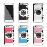 Nuovo Design Camera TPU+PC Back Cover Caso per il iPhone 6 6s