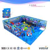 Jouet mou de poste d'intérieur de cour de jeu de thème d'océan d'enfants