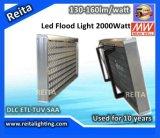2000watt Bridgelux Chip IP66 Outdoor UL LED Flood Light