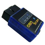 Bluetooth2.0 Diagnostique-Outil intelligent Elm327 Bluetooth OBD2 de véhicule de la version 1.5 de scanner de l'adaptateur Elm327 OBD2