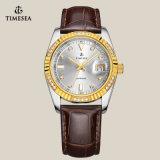 Uhr-Geschäfts-Uhr 72142 der Kristalluhr-Saphir-Männer