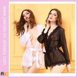 Ropa interior negra atractiva de la muñeca de la talla de las muchachas calientes atractivas calientes más de la ropa de noche