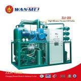 Purificatore di olio avanzato di vuoto di alta efficienza delle Doppio-Fasi che ha usato per l'olio del trasformatore (serie di ZLA)