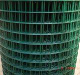 Acoplamiento de alambre soldado cubierto PVC para el edificio y la agricultura