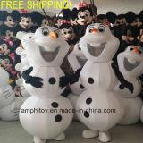 Цена Cheapter Costume талисмана человека снежка Olaf поставкы для износа