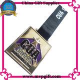 Medalla a medida con 2D cliente / logo grabado 3D para Medal Deportes