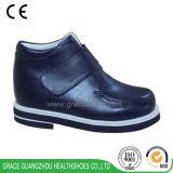 Anmut-Ortho Kind-Schwarz-Blau-Fußbekleidung