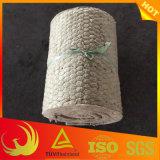 Couverture isolante de laines de roche de treillis métallique de poulet