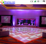 LEDの結婚披露宴のダンス・フロア