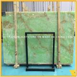 Natürliches Blaues/Grün/rote Onyx-Marmor-Platten für Wand-Hintergrund