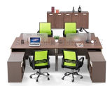 4 Person (SZ-WST725)를 위한 상업적인 Furniture Partition Modern Office Workstation