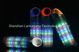 Heißer verkaufenBluetooth Lautsprecher mit buntem Licht-Unterstützungs-TF-Karte U-Platte des Blitz-LED runde Kugel-Form-Lautsprecher