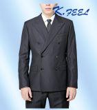 Doppi vestiti personalizzati alta qualità di affari di Breasted degli uomini